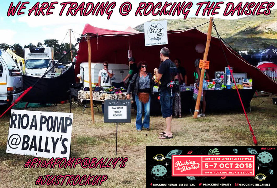 We Are Trading @ Rocking The Daisies 2018