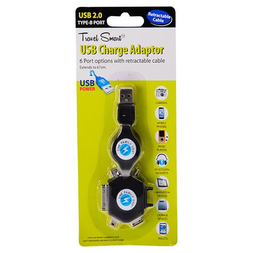 Travel Smart Multiple USB Charger