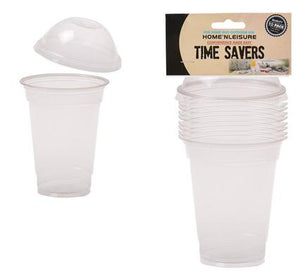 Home & Leisure Disposable plastic dome cups