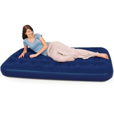 Bestway Flocked Air Bed Twin