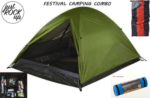 FESTIVAL CAMPING COMBO FOR TWO