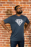 (614) Vintage Navy Hero Unisex T-Shirt