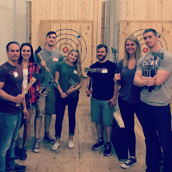 (614) Columbus Axe Throwing Class