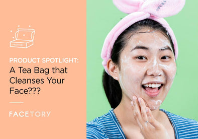 A Tea Bag That Cleanses Your Face???