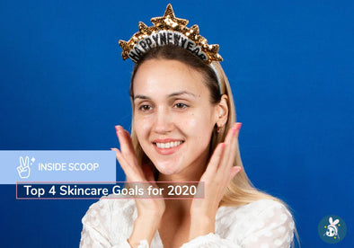 Inside Scoop: Top 4 Skincare Goals for 2020