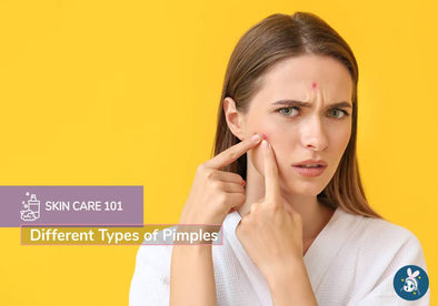 Skincare 101: Different Types of Pimples
