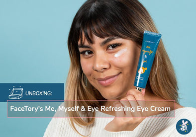 Unboxing: FaceTory's Me, Myself & Eye Refreshing Eye Cream
