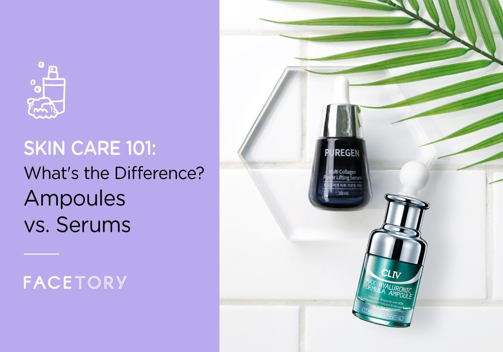What S The Difference Between Ampoules And Serums Facetory Every Face Has A Story
