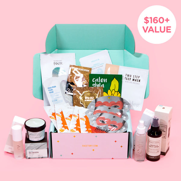 Korean Sheet Masks Monthly Subscription Plans Subscribe Gift
