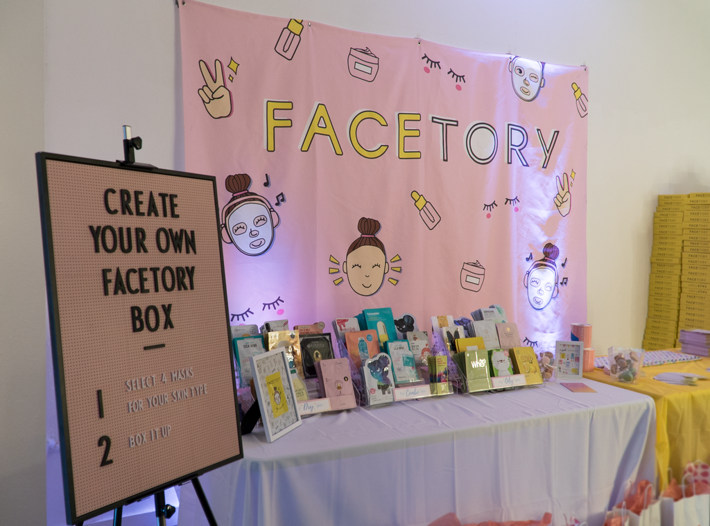 Our create your own FaceTory box section!