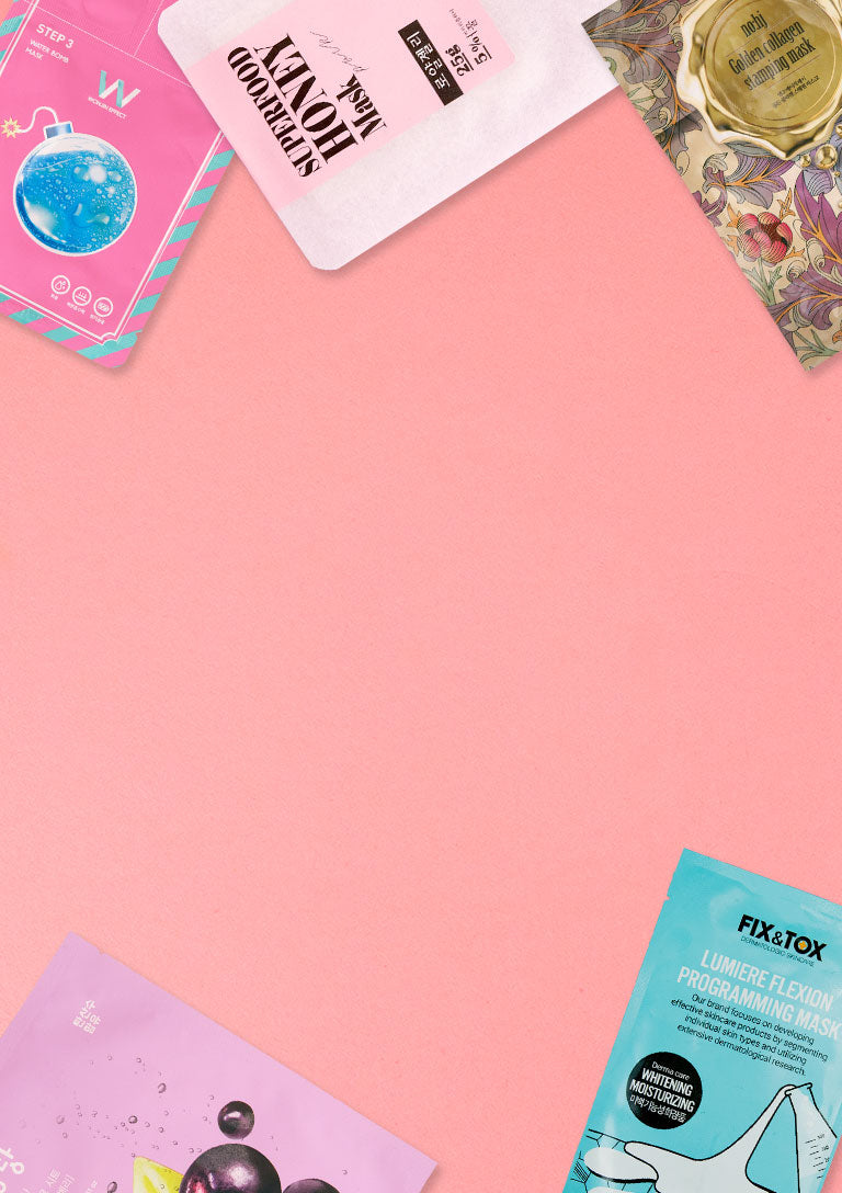 YOUR GO-TO SHEET MASK SUBSCRIPTION SERVICE