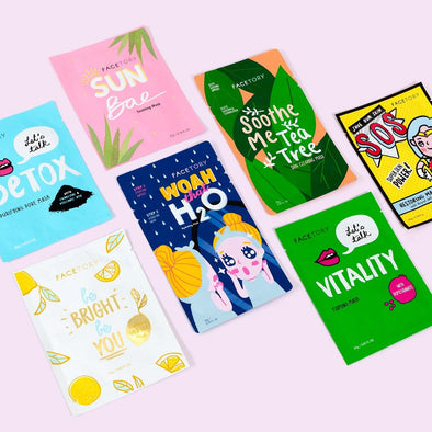 FaceTory Best of Seven Facial Masks Collections