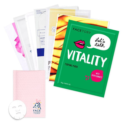 All About Balance Box for Combination Skin Subscription Box FaceTory