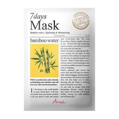 Ariul 7 days Mask Bamboo Water Sheet Mask Ariul