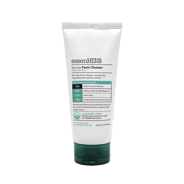 EssenHerb Tea Tree Foam Cleanser Skin Care EssenHerb