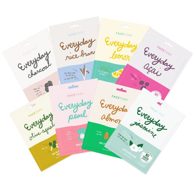 FaceTory Collection Sets (Everyday and Original) Sheet Mask FaceTory Everyday Collection