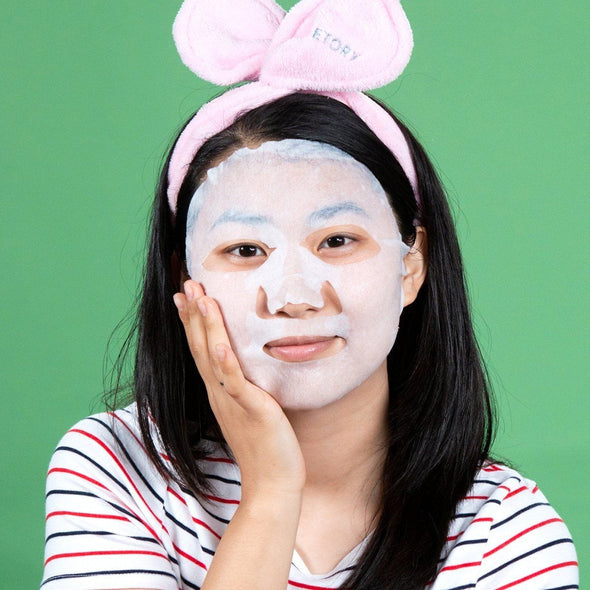 FaceTory Everyday Jasmine Moisturizing Mask - No Harsh Chemicals Sheet Mask FaceTory