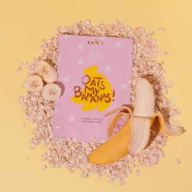 FaceTory Oats My Bananas Sheet Mask Sheet Mask FaceTory Single
