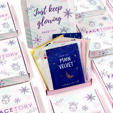 FaceTory Seasons Sheet Mask Essentials Bundles & Sets FaceTory Winter Box