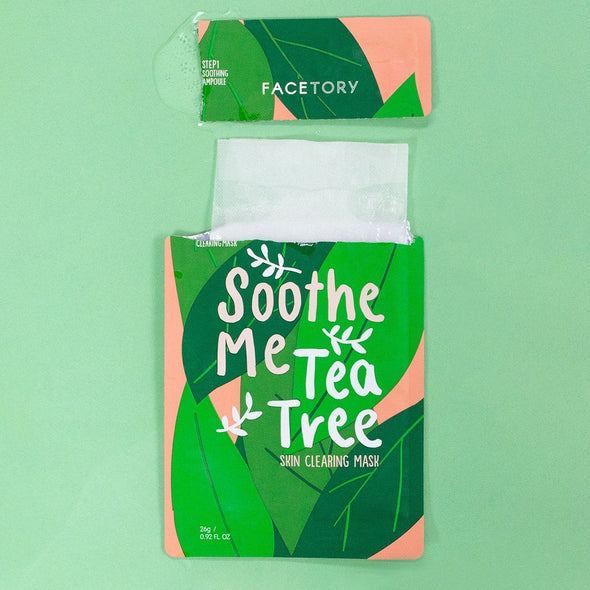 FaceTory Soothe Me Tea Tree Mask Sheet Mask FaceTory