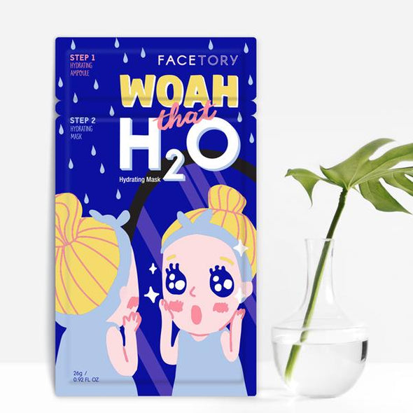 FaceTory Woah that H2O Hydrating mask Sheet Mask FaceTory