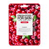 Farm Skin Fresh Food for Skin Facial Sheet Mask: Cranberry Sheet Mask Farm Skin