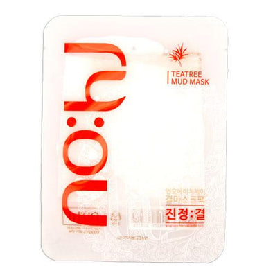 NoHj Tea Tree Mud Mask Sheet Mask NOHJ