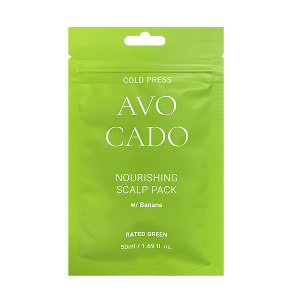 Rated Green Cold Press Avocado Nourishing Scalp Pack w/ Avocado Hair Care Rated Green