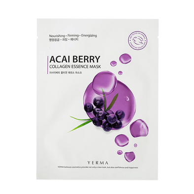 Yerma Acai Berry Sheet Mask Yerma