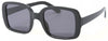 1627FSM - Wholesale Women's Retro Square Sunglasses in Grey