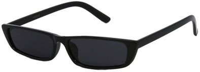 1632FSM - Slim and Thin Retro Rectangular Sunglasses
