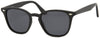 1639PL - Wholesale Unisex Square Style Polarized Sunglasses in Black