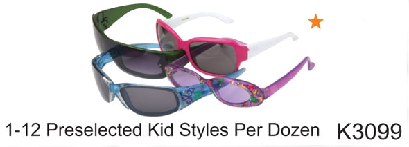 K3099 - Wholesale Kid's Mixed Assortment Sunglasses