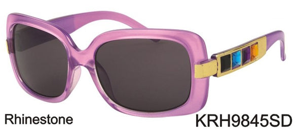 KRH9845SD - Wholesale Kids Sunglasses with Colorful Gems