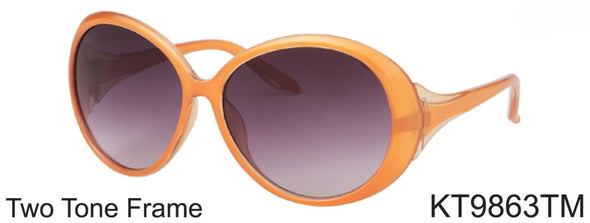 KT9863TM - Wholesale Kids Two Tone Frame Sunglasses