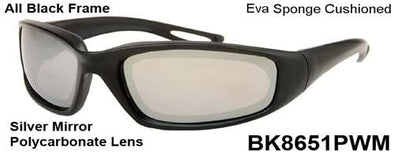 BK8651PWM - Wholesale Eva Sponge Cushioned sunglasses