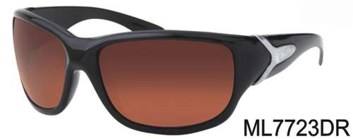 ML7723DR - Wholesale Sport Wrap Sunglasses in Black