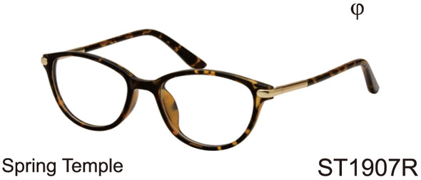 ST1907R - Wholesale Women's Fashion Reading Glasses in Tortoise