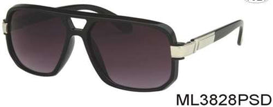 ML3828PSD - Wholesale Retro Old School Hip Hop Sunglasses