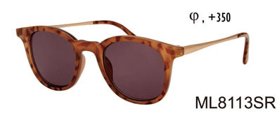 ML8113SR - Wholesale Unisex Reading Sunglasses in Tortoise