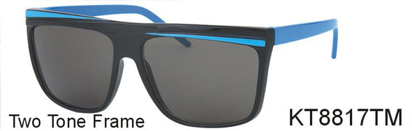 KT8817TM - Wholesale Kids Flat Top Sunglasses