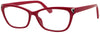 RH1515R -  Wholesale Women's Rhinestone Rectangular Frame Reading Glasses