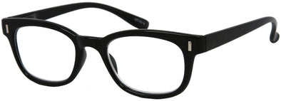 ST1501R -  Wholesale Unisex Basic Style Reading Glasses in Black