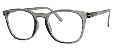 ST1502R -  Wholesale Unisex Key Hole Style Reading Glasses in Grey