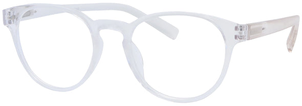 ST1508R - Wholesale Women's Translucent KeyHole Reading Glasses in Translucent Clear