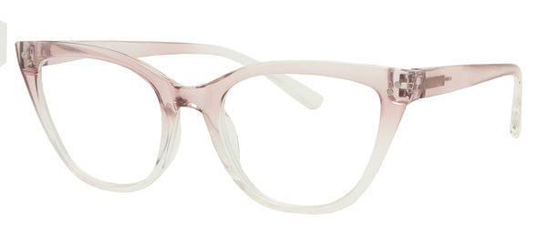 ST1519R -  Wholesale Women's Translucent Fade Cat Eye Reading Glasses