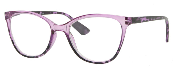 ST1525R -  Wholesale Women's Two Tone Reading Glasses