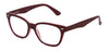 ST1953R - Wholesale Square Shaped Unisex Reading Glasses in Red