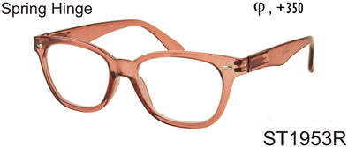 ST1953R - Square Shaped Unisex Reading Glasses