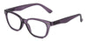 ST1953R - Wholesale Square Shaped Unisex Reading Glasses in Purple
